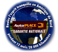 Garantie nationale JF Mécanique Plus